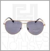 BVLGARI Le Gemme Black Rose Gold 18K Plated POLARIZED Foldable Sunglasses 5034 image 6