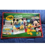 Crayola ~ Disney Mickey Mouse Clubhouse GIANT COLORING BOOK ~ 18 Pages! - $4.45