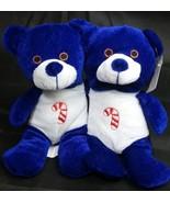 THE ORIGINAL BEANPALS 2 Blue Christmas Bears~ KellyToy Bean Pal Beanie  NEW - $9.49