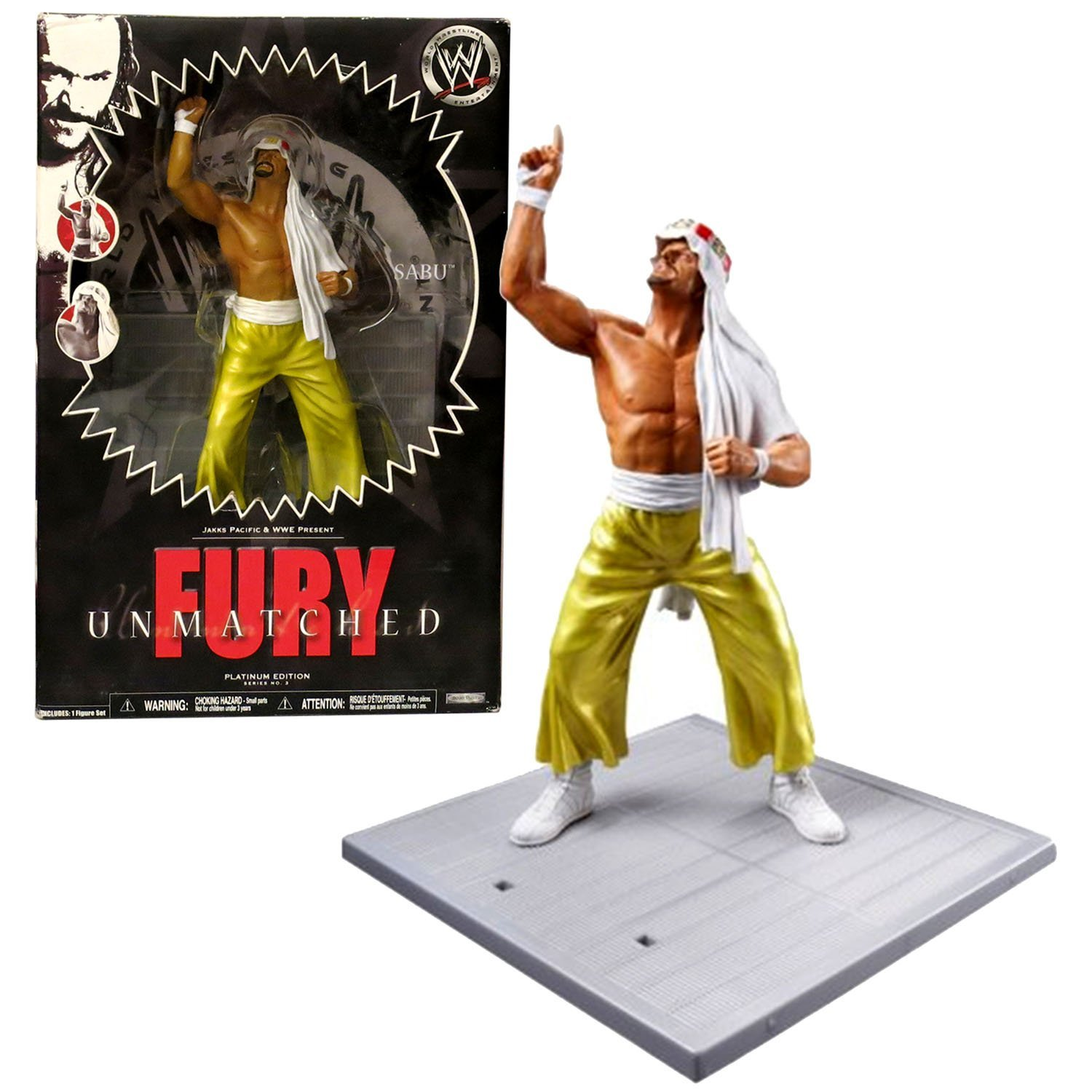 Primary image for World Wrestling Entertainment Jakks Pacific Year 2007 WWE Platinum Edition Fury