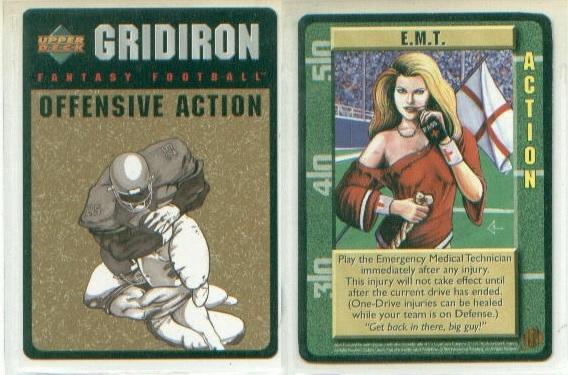 Card game gridiron