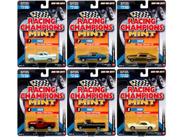2017 Mint Release 3 Set A Set of 6 Cars 1/64 Diecast Model Cars by Racing Champ - $67.19