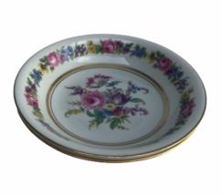 Vintage Castleton Manor Fine China Floral Dresden School 2 Berry Bowls U... - $18.46