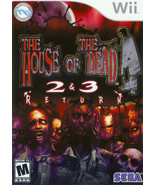 House Of The Dead 2 & 3 Return Wii Great Condition Complete Fast Shipping - $39.93