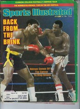 Larry Holmes Vs Renaldo Snipes Boxing Si Magazine Has Label Sports Illustrated - $1.97