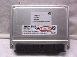 04-05 BMW X3 ENGINE CONTROL MODULE/COMPUTER..ECU..ECM..PCM - $122.02