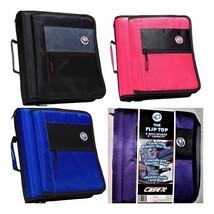"Case-It The Flip Top 2"" Zipper Binder with Flap, 3-Ring Binder M-276 - $26.38 CAD+"