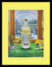 2005 Absolut Citron Winter Vodka 11x14 Framed ORIGINAL Vintage Advertise... - $32.36