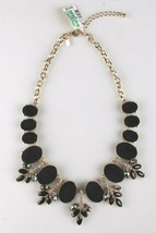 I.N.C. Gold-Tone Faux Velvet-Covered Multi-Stone Crystal Statement Necklace 18 image 1