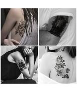 Everjoy Large Sleeve Temporary Tattoos - 8 sheets, Dead Skull, Eagle Haw... - $14.53