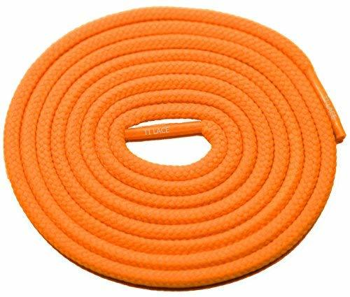"Primary image for 54"" Neon Orange 3/16 Round Thick Shoelace For All Unisex 3/16 Round Thick Shoes"