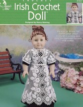 "Irish Crochet 17"" Doll Outfit Annie's PATTERN/INSTRUCTIONS Leaflet NEW - $2.67"