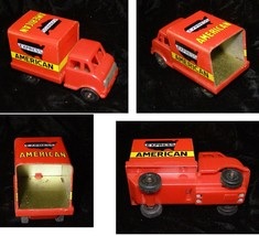 American Express Truck Friction Car Vintage Toy - $16.99