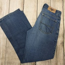FOX /'THROTTLE 2/' DISTRESSED BOYS JEANS SIZE 10