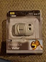 Vivitar V69379-DG Windows 7 Digital Camera, Web Cam and Video Clips 3 In 1 NIP - $15.67