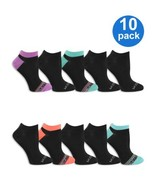 Hanes Women's Everyday Soft Flat Knit No Show Socks, 10 Pack, Size 4-10 - $17.95