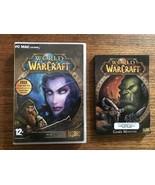 WORLD Of WARCRAFT Blizzard  PC GAME Windows/Mac 2004 W/ Game Manual -#2 ... - $7.59