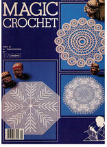 MAGIC CROCHET Issue # 10 - Vintage 1980's - $9.99