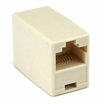 New Cat5e CAT5 RJ45 Inline Ethernet Network Patch Cable Coupler, 8P8C Straight - $6.17