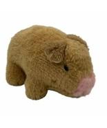 "Vintage KAMAR Hog Pig Piglet Piggy Plush Toy Made In Taiwan Small 6"" - $11.53"