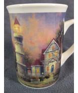 Thomas Kinkade Victorian Light Coffee Cup Mug 8oz Ceramic 2000 - $17.95