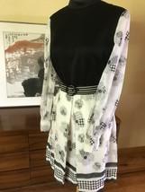 Vintage 1960s 1970s Daisy mod Mini Dress Brady - $33.66