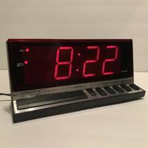Vintage Spartus Electronic Digital Alarm Clock Model 1150 Retro - $15.99