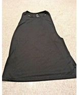 Ladies Adidas Climalite Black Racerback Tank Top (Small) - $9.50