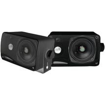 Pyle PLMR24B Hydra Series 3.5 200-Watt 3-Way Weatherproof Mini-Box Speak... - $40.77