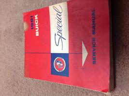 1961 GM Buick Special Service Shop Repair Workshop Manual OEM 1961 Worn Factory - $12.86