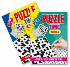 A5 Mega Puzzles Letters/Number Puzzle Pad Book Tough Educational Brain T... - $2.92+