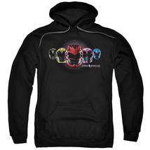 Power Rangers - Head Group Adult Pull Over Hoodie Officially Licensed Apparel - $32.99+