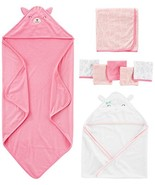 Simple Joys by Carter's Baby Girls' 8-Piece Towel and Washcloth Set, Pin... - $27.65
