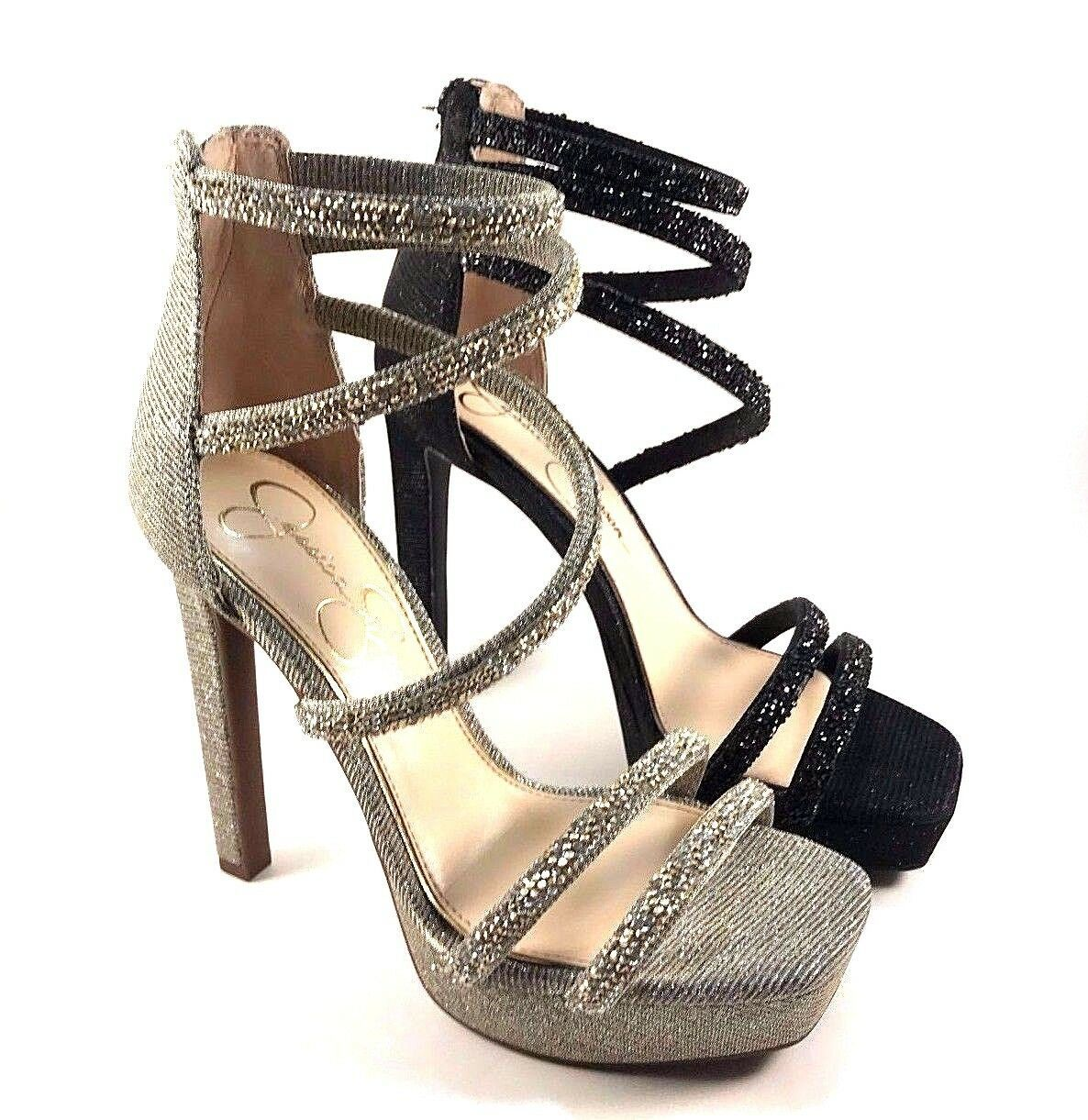 Primary image for Jessica Simpson Beyonah High Heel Strappy Platform Dress Sandal Choose Sz/Color