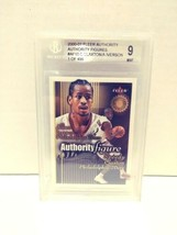 2000-2001 Fleer Authority Figures Allen Iverson Speedy Claxton Beckett 9... - $14.99