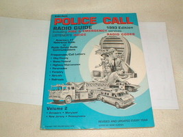 Radio Shack Police Call Frequency Guide Scanner Reference Radio Codes 19... - $22.00