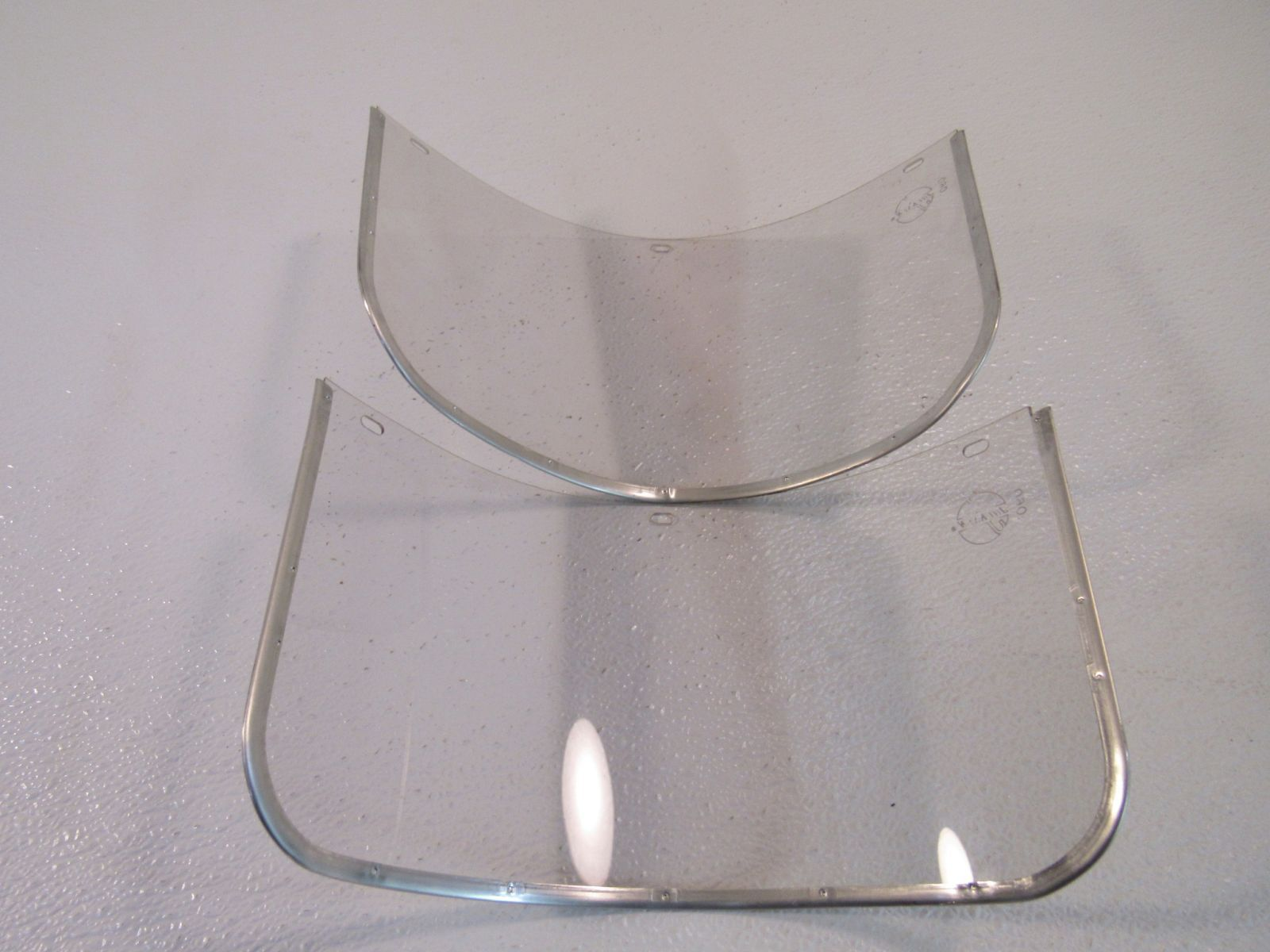 Jackson Lot of 2 Faceshields For Z-87 Clear 060 Plastic