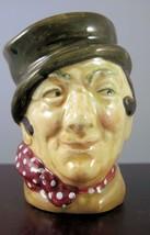 "Royal Doulton Character Jug ""Sam Weller"" Mini D6140 - $14.24"