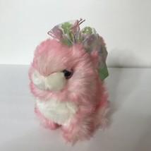 "Dan Dee Collectors Choice Rabbit Plush 6"" Tall Fluffy Tipped Bunny  - $18.79"