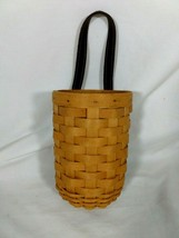 Longaberger 2001 Small Gatehouse Basket And Protector NICE!!! - $22.76