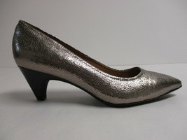 Sofft Size 8 M ALTESSA II Anthracite Leather Pumps Heels New Womens Shoes - $98.01