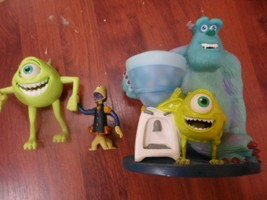 """Disney Pixar Monsters Inc. Sully & Mike @ Water Cooler 9""""+ 2 Figures Bobble + - $9.88"""