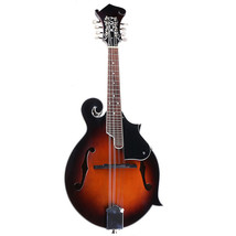 Classic Sunburst F Modle 24 Frets 8 String Paulownia Wood Mandolin With ... - $237.59