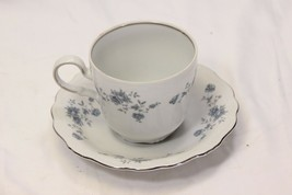 Johann Haviland Blue Garland Cups and Saucers 8 each - $38.21
