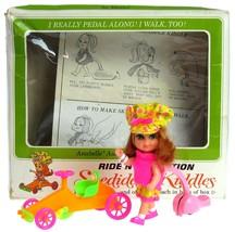 Vintage 1968 Mattel Liddle Kiddles Annabelle Autodiddle Skediddle Mint w/Box  - $124.99