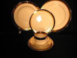 Fitz & Floyd PLATINE D'OR Porcelain Dinnerware VTG Plates Cups Saucers *... - $24.74+