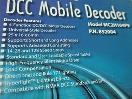 Soundtraxx 852004 MC2H104P9 DCC Mobile Decoder without Plug 4 Function image 2