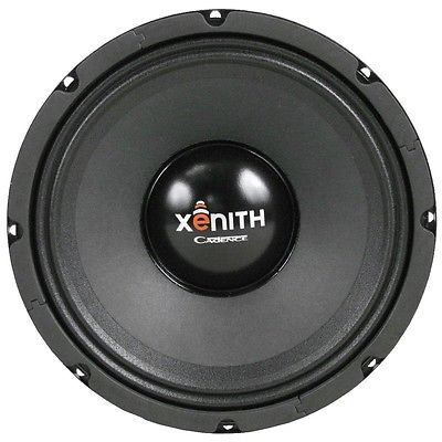 Pair of (2) Cadence Acoustics XM88 200 Watt  8-Inch 8 Ohm Mid-High  Midranges
