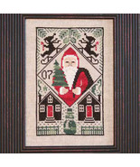 2007 Let It Snow Santa Limited Edition cross stitch chart Prairie Schooler  - $6.00