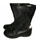 Frank Thomas Motorcycle Boots Waterproof Women's Size 37 EU 6.5 - 7 US - $28.95